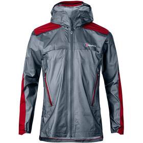 Berghaus GR20 Storm Shell Jacket Men Nickel/Haute Red